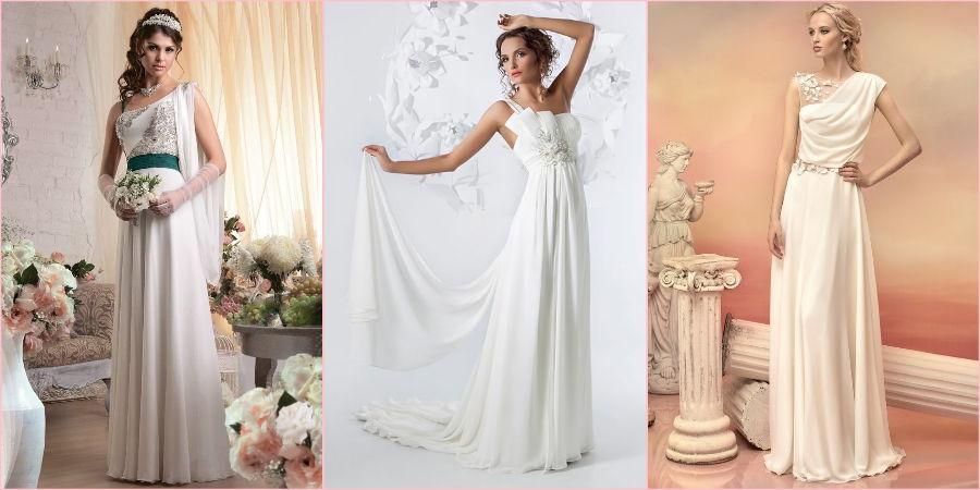 Античные наряды давно считаются классическими для замужества