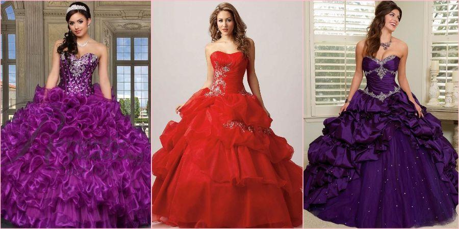 Красный и фиолетовый для экстравагантных модниц