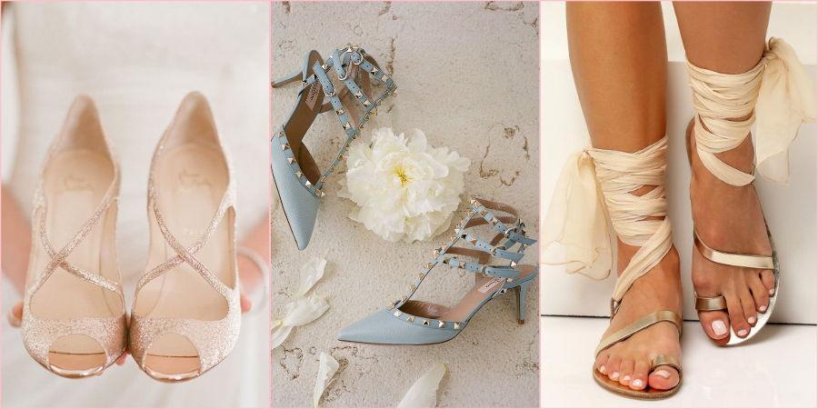 Изящные туфельки для античной богини