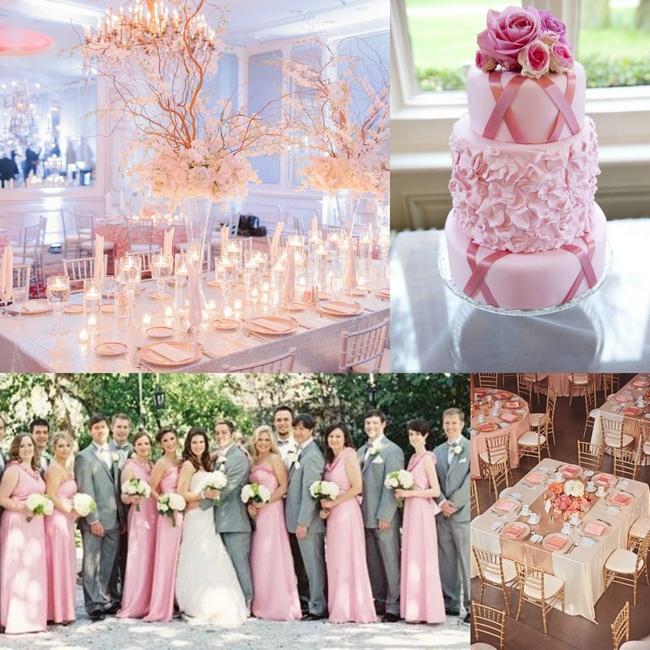 оформление вашей свадьбы в розовом цвете