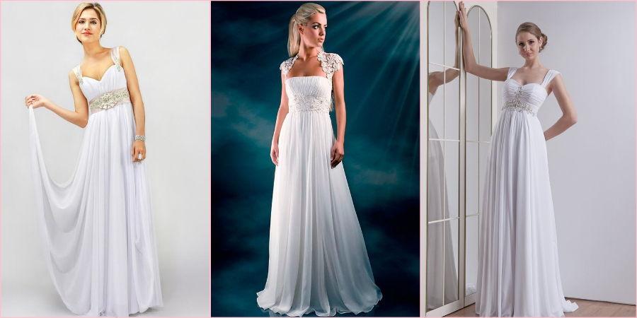 Широкие лямки предназначены для невест с пышными формами