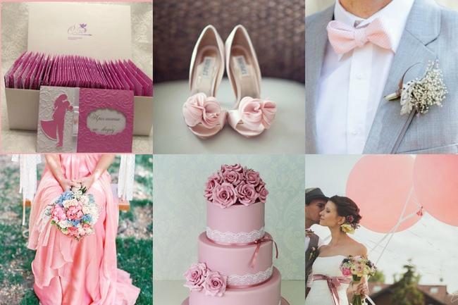 фото вашей свадьбы в розовом цвете