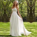 Греческое свадебное платье «Ампир» – воплотите образ античной богини