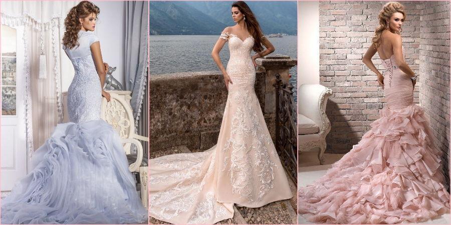 Популярные светлые оттенки на свадебное торжество