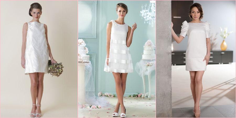 Блестящий материал прекрасно дополнит платье до колен