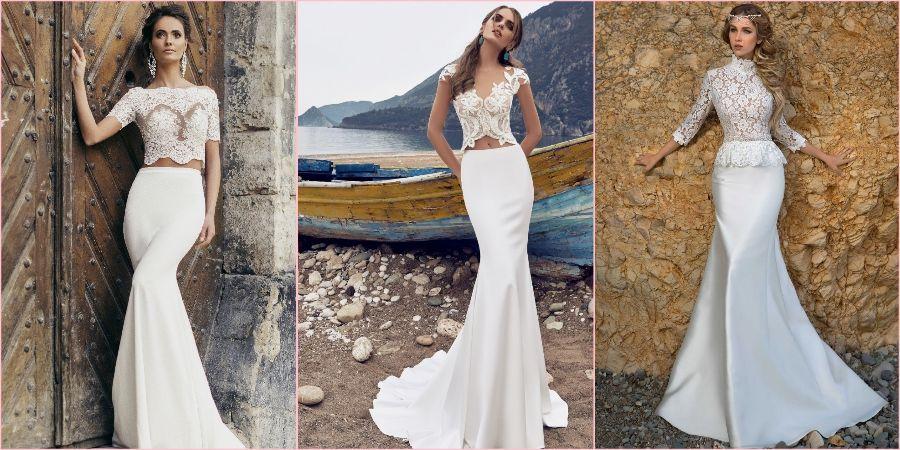 Замечательная идея для невесты надеть юбку-годе