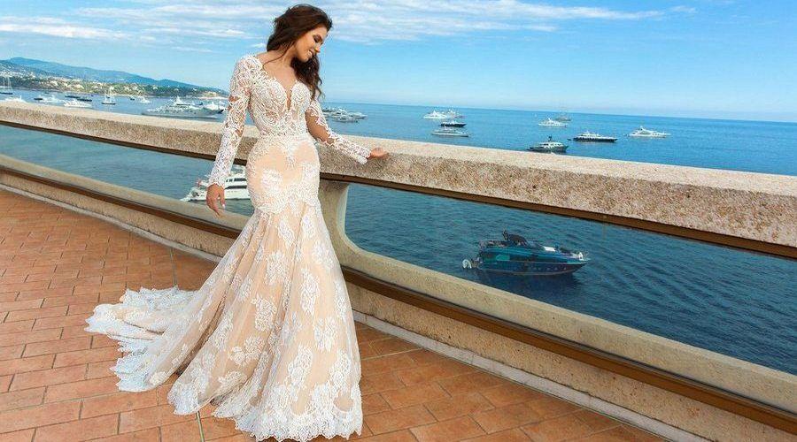 Невеста в платье рыбка на свадьбу