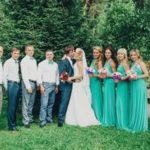Шикарная пышная свадьба