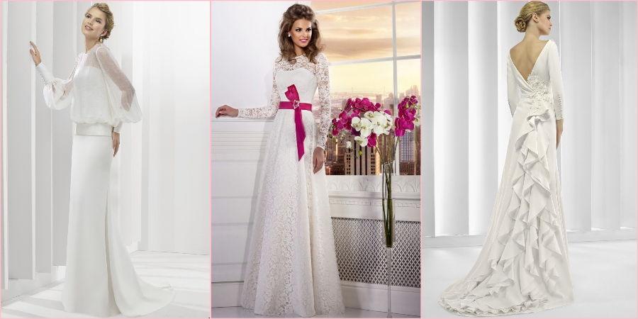 Подбирайте украшенные варианты платьев