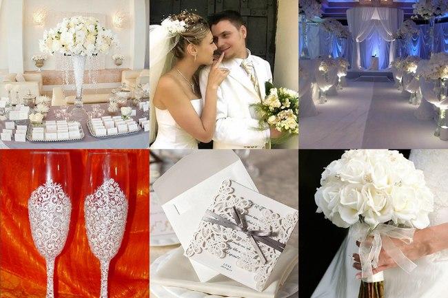 Фото белой свадьбы
