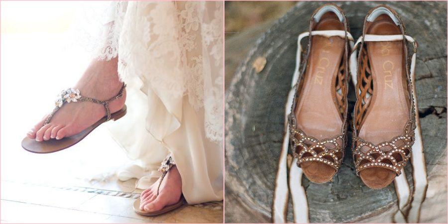 На деревенское торжество надевайте обувь без каблука