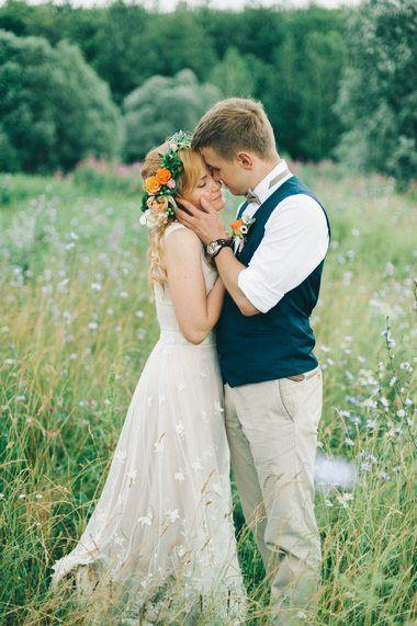 Свадебное торжество стиля Рустик