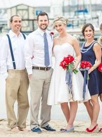 Свадьба в морском стиле отличный вариант