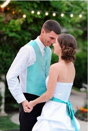 Модный стиль для свадьбы тиффани