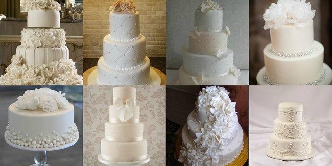 Кондитерский торт в белом стиле