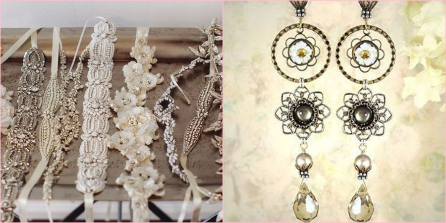 Выбирайте крупные и яркие браслеты с серьгами