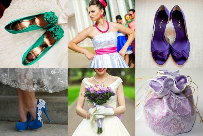 Букет невесты на свадьбу стиляги