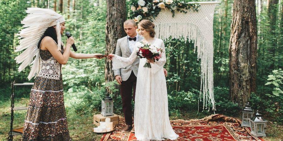 Природа подходит и для заключения брака