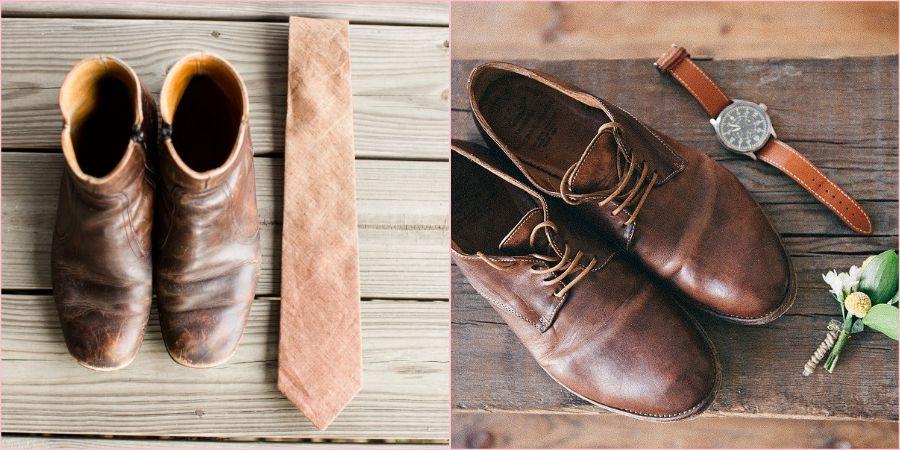 Легкие ботинки прекрасно подойдут для жениха в свадебный день