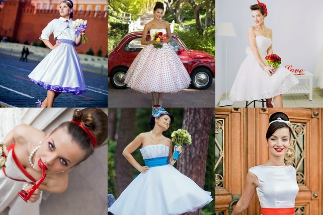 Свадьба в стиле стиляги одежда молодоженов