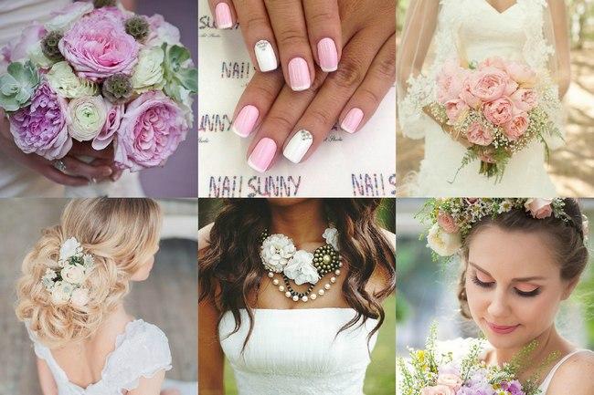 Фото аксессуаров невесты на свадьбу шебби шик