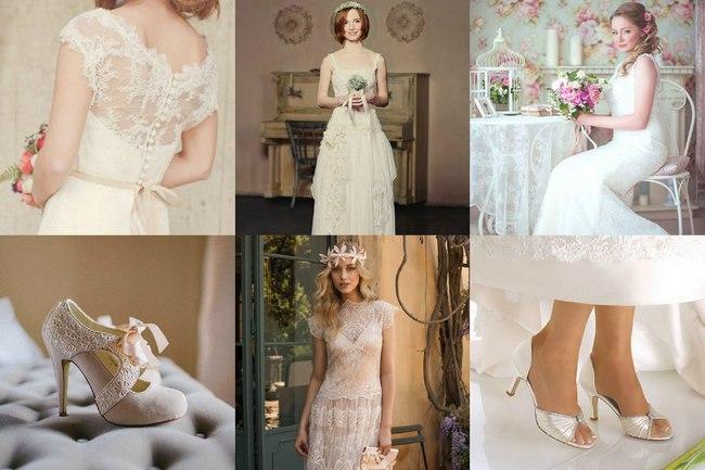 Платье невесты на свадьбу шебби шик
