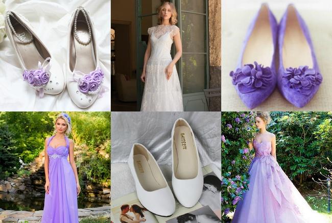 Платье на свадьбное торжество стиля прованс