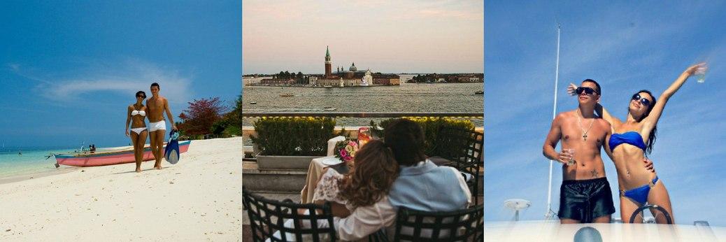 Волшебная Италия для свадебного путешествия