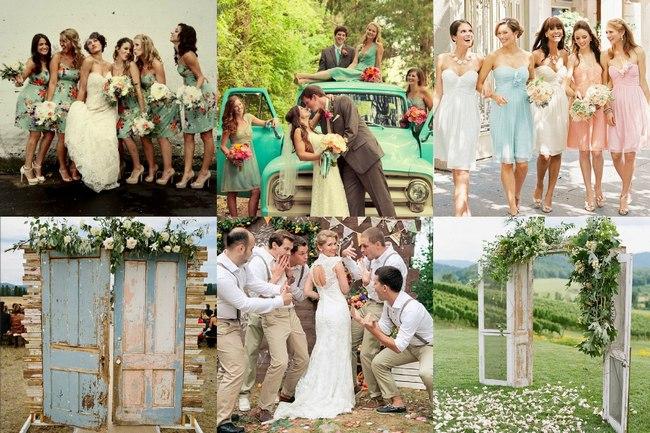 Красивая тематика свадьбы шебби шик