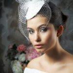 Свадебная вуалетка – украшение на голову невесты