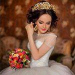 Свадебная корона – шикарное украшение для невесты