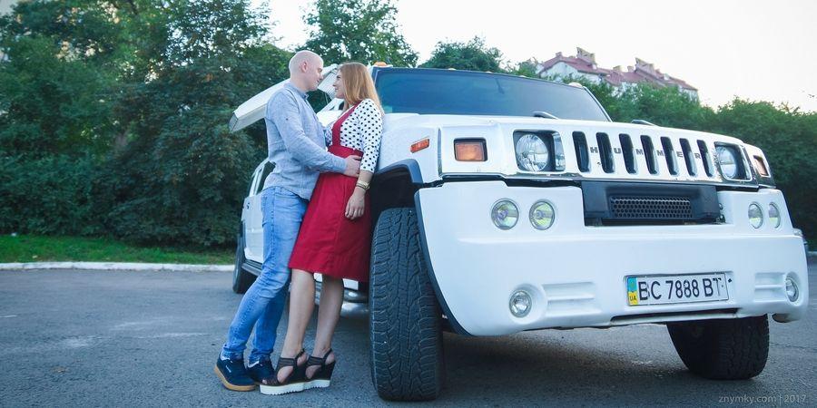 Историю любви можно сделать около своего автомобиля