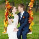 Играем свадьбу осенью – идеи оформления, стили, цветовая гамма и приметы