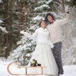 Зимняя свадьба – идеи оформления 2020