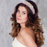 Ободки и обручи – современные свадебные аксессуары