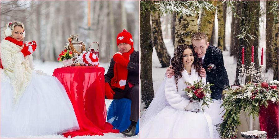 фотосессия-зимой +свадьба