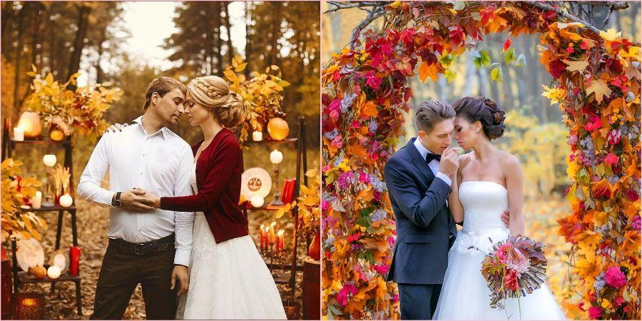 Оформить свадебное торжество очень легко