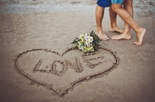 Пара в медовый месяц