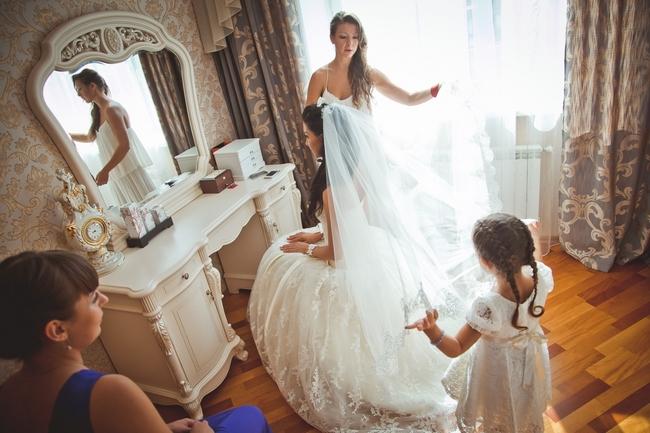 Утро невесты с мамой и подругами