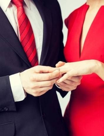 Решение влюбленных пожениться