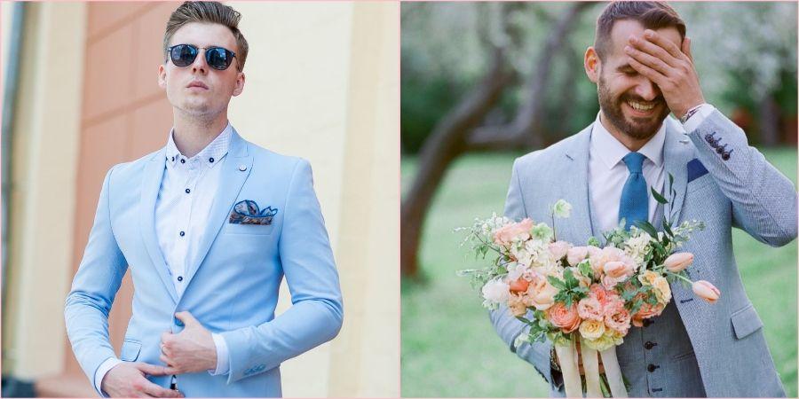 Одежда мужчины будет зависеть от месяца свадьбы