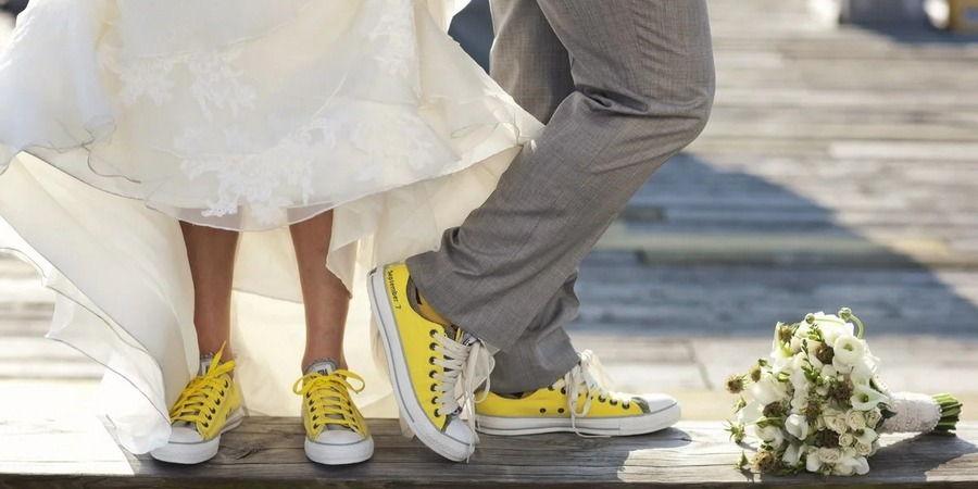 Обувь жениха должна полностью гармонировать с внешним видом возлюбленной