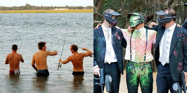 Рыбалка и пейнтбол для друзей