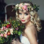 Венок – модный свадебный аксессуар на голову невесты