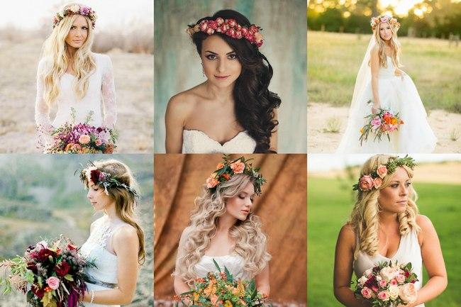 Венки для свадеб в стиле