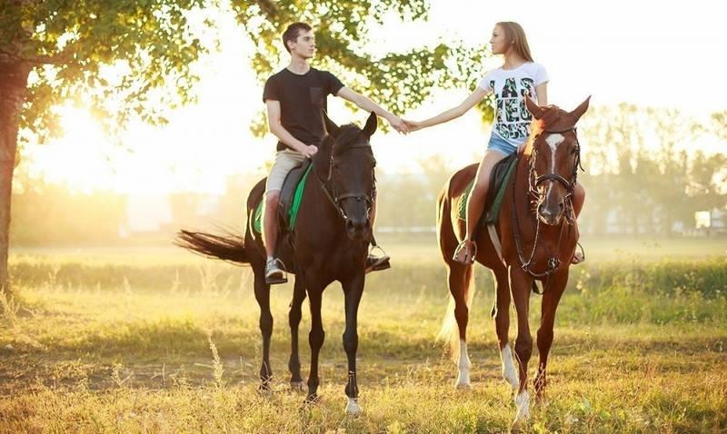 Прокатиться на лошадях