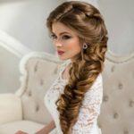 Идеи причесок для девушек с длинными волосами в свадебный день