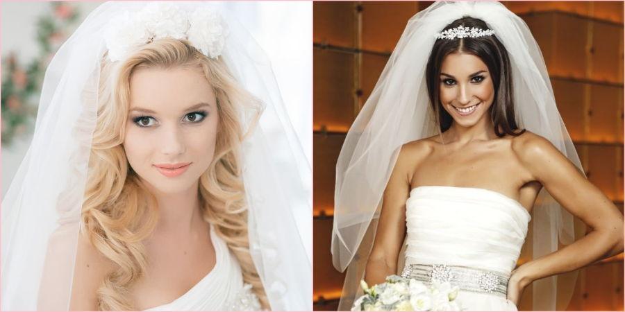 Сочетание со свадебными атрибутами