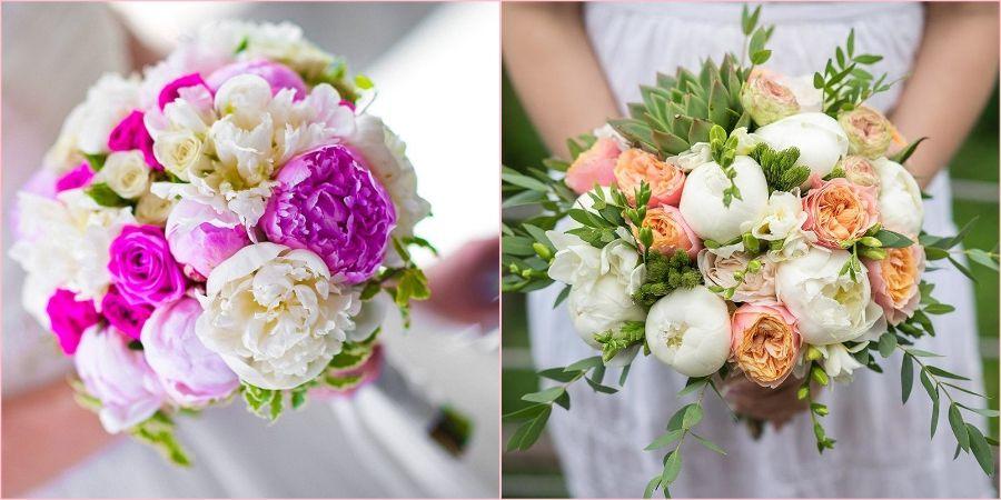 Сочетайте пионы с другими цветами
