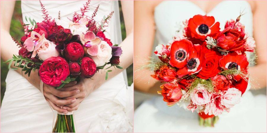 Красные тона разбавят Вашу свадьбу